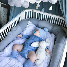 Newborn Crib Bumper Comforting Crocodile Pillow Baby Room Decor Toys Bed Bumpers