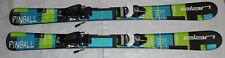 Elan pinball kids junior skis 110cm + Tyrolia size adjustable kids bindings NEW