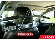 Extendable Car Seat Headrest Metal Holder Coat Clothes Jacket Suit Shirt Hanger
