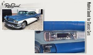 For Buick Special RetroSound Classic Car Radio DAB+ USB Bluetooth Aux Vhf Fm