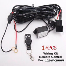 Remote Control Wiring Harness Kit Switch Relay Led Light Bar 120W 240W 288W 300W