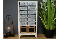 Small Industrial Metal Multi Drawer Storage Unit - Industrial Style