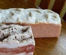 HANDMADE FRESH BAR SOAPS Goats Milk, whole 2lb + loaf HOMEMADE, you choose scent