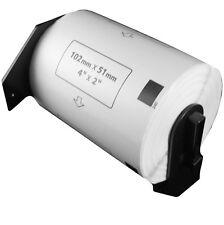 (10 Rolls) DK-1240  Brother Compatible Labels. Premium Permanent Core. DK1240