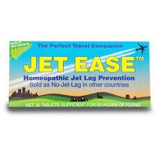 JET EASE homeopathic jet lag prevention (aka No-Jet-Lag) 32 tablets FREEPOST