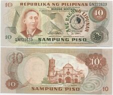 Philippines 10 Piso 1981 UNC (P-167) F. Marcos commemorative overprint