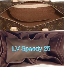 Bag Organizer Shaper Internal for LV SPEEDY 25,TOTALLY MM,Hamstead PM in BROWN