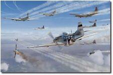 Alabama Rammer Jammer by Jim Laurier - P-51 Mustangs - Aviation Art Prints