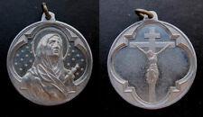 Medalla religiosa antigua VIRGEN MATER DOLOROSA medal religious