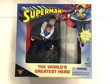Superman The  World's Greatest Hero Clark Kent Figure DC Hasbro 2000