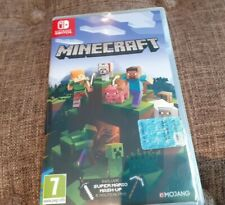 Minecraft x Nintendo Switch Italiano COME NUOVO ITA Completo Boxato PAL