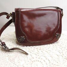 Etienne Aigner Vintage Full Leather Satchel Bag Purse