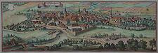 Schlüchter - Schlüchtern - Merian - Originale Ansicht von 1650