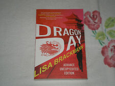 DRAGON DAY by LISA BRACKMAN   +ARC+  -FM-