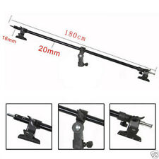 BA03 Soporte De Titular De Reflector Studio Abrazadera Boom Arm 98cm - 180CM 6 pies de cabeza de agarre