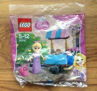 LEGO 30116 DISNEY RAPUNZELS MARKET VISIT POLYBAG 1st class free UK Postage