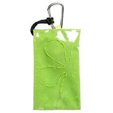 Golla Telefontasche, Handytasche, Wave Flower,  grün, hellgrün, mit Motiv 75239