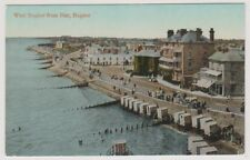 Sussex (West) postcard - West Bognor from Pier, Bognor