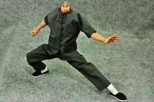 """Hot ZY Toys 1/6 Way of Dragon Kung Fu Grey Clothing Suit Set F 12"""" Figure Models"""