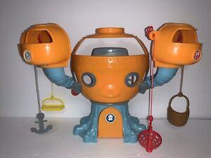Octonauts Fisher-Price Original Octopod Playset Swing Rope Barnacles Peso Kwazii