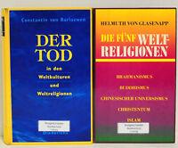 Bücherpaket: 2x Der Tod in den Weltkulturen und Weltreligionen/Die fünf Weltreli