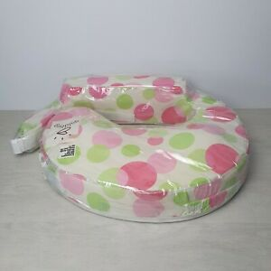 My Brest Friend Nursing Breastfeeding Support Pillow Pink/Green Spots