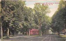Columbia & Washington Streets Mohawk New York 1910c postcard