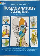 Human Anatomy Coloring Book (Dover Science Books) by Margaret Matt