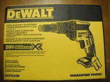 DEWALT DCF622B 20V MAX XR Versa-Clutch Adjustable Torque Screwgun NEW