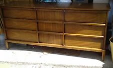 4 piece Bedroom set by Drexel . Two dressers , nightstand ,and mirrior !