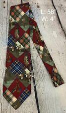 Ruff Hewn True American Wear mens golf tie 100% silk
