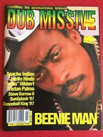 Dub Missive magazine June 1998 - Beenie Man, Toots Hibbert, Triston Palma etc...