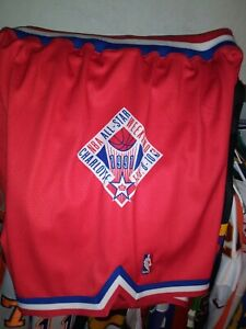 Mitchell & Ness Authentic NBA All-Star Game west(1991) Shorts size 60 4x) red