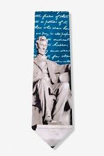 Mens President Abraham Lincoln at Memorial History Necktie Tie Neckwear