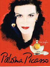 "PUBLICITE ADVERTISING 025  1997  PALOMA PICASSO   "" MON PARFUM"" femme"