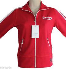 Vêtements de fitness rouge coton pour femme