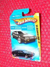 2010 Hot Wheels Premiere '81 DeLorean DMC-12  #16  R0931-B816  black