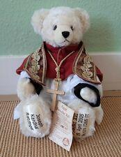 Unbespielt + Limitiert! HERMANN Mohair Teddy Papst Benedikt XVI - Ratzinger !T09