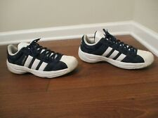 Classic 2003 Used Worn Size 12 Adidas Superstar 2G Suede Upper Shoes Navy SS2G