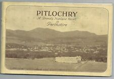 Vintage guidebook Pitlochry Perthshire 1930s
