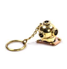 CASCO da immersione Portachiavi-Brass Key Chain