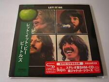 "BEATLES ""Let It Be"" Japan mini LP SHM CD 1st Press"