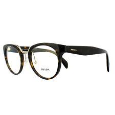 Prada Glasses Frames PR03UV 2AU1O1 Havana 49mm Womens