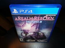 Final Fantasy XIV Online: A Realm Reborn (Sony PlayStation 4, 2014)