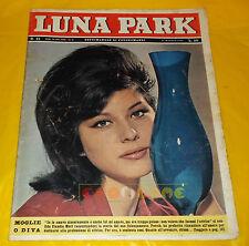 LUNA PARK 1963 n. 21 Claudia Mori, Carl Schell
