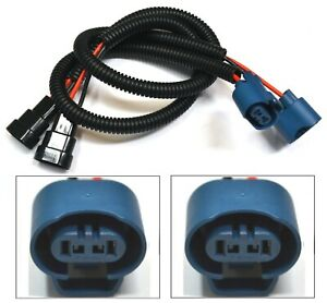 Extension Wire U 9005 HB3 Two Harness Head Light Bulb High Beam Plug Connector