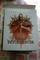 THE LAST WITCH HUNTER STEELBOOK- BLU-RAY + DVD + DIGITAL HD - GREAT CONDITION!!