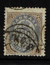Denmark - SC# 33a - Blue Violet - Used (Small Bottom Tear) - 052117
