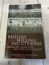 Hitler's Willing Executioners by Daniel Jonah Goldhagen 1997 paperback