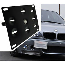 01-06 For BMW M3 Front Bumper Tow Hook License Plate Bracket Mount Adapter E46